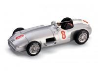 BRUMM 1/43 MERCEDES W196 FANGIO GP OLANDA 1955 MODELLINO