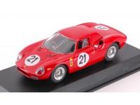 BEST MODEL 1/43 FERRARI 250 LM N.21 LE MANS 1965 MODELLINO