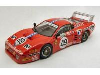 BEST MODEL 1/43 FERRARI 512 BB LM 3 SERIE N.49 LE MANS 1981 MODELLINO