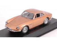 BEST MODEL 1/43 FERRARI 330 GTC 1966 BY PININFARINA NOCCIOLA METALLIZZATO MODELLINO