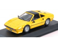 BEST MODEL 1/43 FERRARI 308 GTSi QUATTROVALVOLE 1981 GIALLA MODELLINO