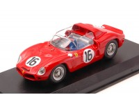 ART MODEL 1/43 FERRARI 268 DINO SP N.16 TEST LE MANS 1962 MODELLINO