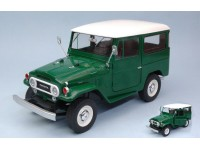 TRIPLE 9 COLLECTION 1/18 TOYOTA LAND CRUISER FJ40 1967 VERDE MODELLINO