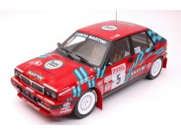 TRIPLE 9 COLLECTION 1/18 LANCIA DELTA HF INTEGRALE 16V N.5 RALLY SANREMO 1989 MODELLINO
