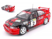 TRIPLE 9 COLLECTION 1/18 MITSUBISHI LANCER EVO VI N.2 CANBERRA RALLY 1999 MODELLINO