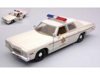 GREENLIGHT 1/24 DODGE MONACO 1975 HAZZARD COUNTY SHERIFF MODELLINO