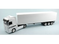 NEWRAY 1/43 CAMION MERCEDES CONTAINER BIANCO MODELLINO