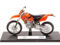 WELLY 1/18 KTM 525 EXC MODELLINO