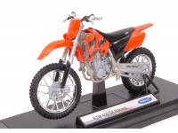 WELLY 1/18 KTM 450 SX RACING MODELLINO