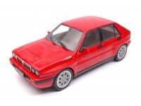 TRIPLE 9 COLLECTION 1/18 LANCIA DELTA HF INTEGRALE 16V 1989 ROSSA MODELLINO