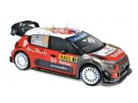 NOREV 1/18 CITROEN C3 WRC N.10 VITTORIA RALLY CATALUNYA 2018 MODELLINO