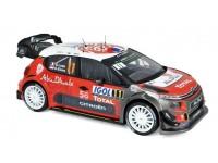NOREV 1/18 CITROEN C3 WRC N.11 TOUR DE CORSE 2018 MODELLINO