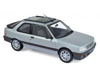 NOREV 1/18 PEUGEOT 309 GTi 1987 FUTURA GREY METALLIC MODELLINO