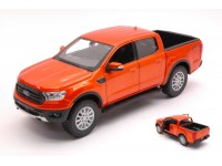 MAISTO 1/24 FORD RANGER 2019 ORANGE MODELLINO