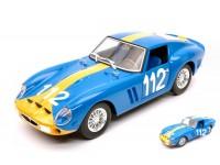 BURAGO 1/24 FERRARI 250 GTO N.112 TARGA FLORIO 1964 MODELLINO