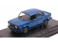NOREV 1/43 SIMCA 1000 RALLYE 3 1978 TALBOT BLUE MODELLINO