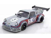 NOREV 1/18 PORSCHE 911 RSR TURBO N.5 1000 KM BRANDS HATCH 1974 MODELLINO
