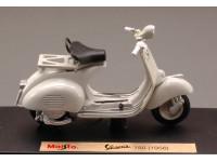 MAISTO 1/18 VESPA 150 BIANCA 1956 MODELLINO
