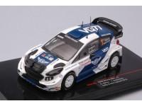 IXO MODELS 1/43 FORD FIESTA RS WRC N.1 RALLY ARCTIC LAPLAND 2019 MODELLINO