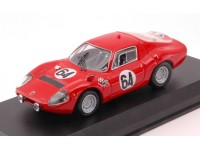 BEST MODEL 1/43 ABARTH OT 1300 N.64 24H LE MANS 1967 MODELLINO