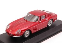 BEST MODEL 1/43 FERRARI 275 GTB/4 1966 ROSSO METALLIZZATO MODELLINO