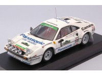 BEST MODEL 1/43 FERRARI 308 GTB GR.4 N.8 VITTORIA RALLY PIANCAVALLO 1982 MODELLINO