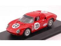 BEST MODEL 1/43 FERRARI 250 LM N.23 24 ORE DAYTONA 1966 MODELLINO