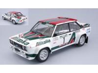 IXO MODELS 1/18 FIAT 131 ABARTH N.1 RALLY DEL PORTOGALLO 1978 MODELLINO