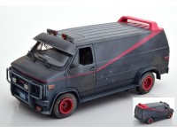 GREENLIGHT 1/18 GMC VANDURA THE A-TEAM 1983-87 VERSIONE SPORCA MODELLINO