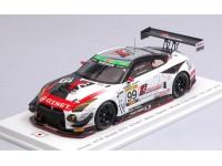 Spark Model 1/43 Nissan GT-R Nismo GT3 No.99 vittoria Fuji Super Tec 24H 2018 modellino