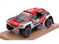 Spark Model 1/43 Peugeot 3008 DKR Maxi N.333 Dakar Rally 2019 modellino