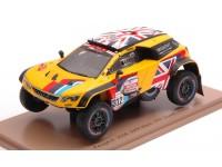 Spark Model 1/43 Peugeot 3008 DKR Maxi N.312 Dakar Rally 2019 modellino