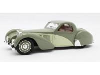 Matrix Scale Models 1/18 Bugatti T57SC Atalante verde 1937 modellino