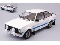IXO MODELS 1/18 FORD ESCORT MK II RS 1800 1977 BIANCA MODELLINO