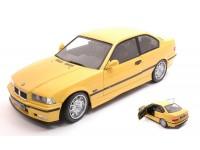 SOLIDO 1/18 BMW E36 M3 COUPE 1994 GIALLO DAKAR MODELLINO
