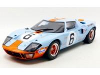 CMR 1/12 FORD GT 40 N.6 VITTORIA LE MANS 1969 MODELLINO