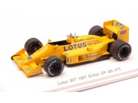 REVE COLLECTION 1/43 LOTUS 99T N.11 S.NAKAJIMA GP GRAN BRETAGNA 1987 MODELLINO
