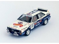 TROFEU 1/43 AUDI QUATTRO N.10 NATIONAL BREAKDOWN RALLY 1987 MODELLINO