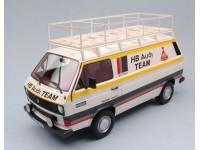 PREMIUM CLASSIXXS 1/18 VOLKSWAGEN T3 HB SERVICE TEAM AUDI 1980 MODELLINO