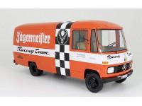 PREMIUM CLASSIXXS 1/18 MERCEDES L 408 KASTENWAGEN 1972 JAGERMEISTER RACING TEAM MODELLINO