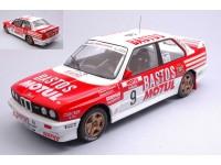 IXO MODELS 1/18 BMW E30 M3 N.9 TOUR DE CORSE 1988 MODELLINO
