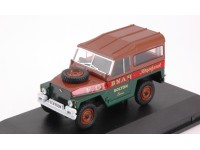 OXFORD DIECAST 1/43 LAND ROVER LIGHTWEIGHT HARD TOP FRED DIBNAH MODELLINO