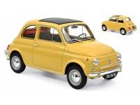 NOREV 1/18 FIAT 500 L 1968 GIALLA MODELLINO