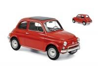 NOREV 1/18 FIAT 500 L 1968 ROSSO CORALLO MODELLINO