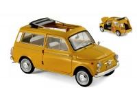 NOREV 1/18 FIAT 500 GIARDINIERA 1968 GIALLO POSITANO MODELLINO