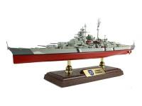 Forces of Valor 1/700 nave da battaglia tedesca Bismarck modello assemblato