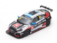 SPARK MODEL 1/43 HONDA CIVIC TYPE R TCR N.86 WINNER RACE 1 WTCR MARRAKESH 2019 MODELLINO