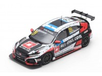 SPARK MODEL 1/43 HONDA CIVIC TYPE R TCR N.29 WINNER RACE 1 WTCR HUNGARORING 2019 MODELLINO