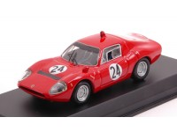 BEST MODEL 1/43 ABARTH OT 1300 N.24 TRENTO-BONDONE 1968 MODELLINO