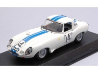 BEST MODEL 1/43 JAGUAR E TYPE N.14 LE MANS 1963 MODELLINO